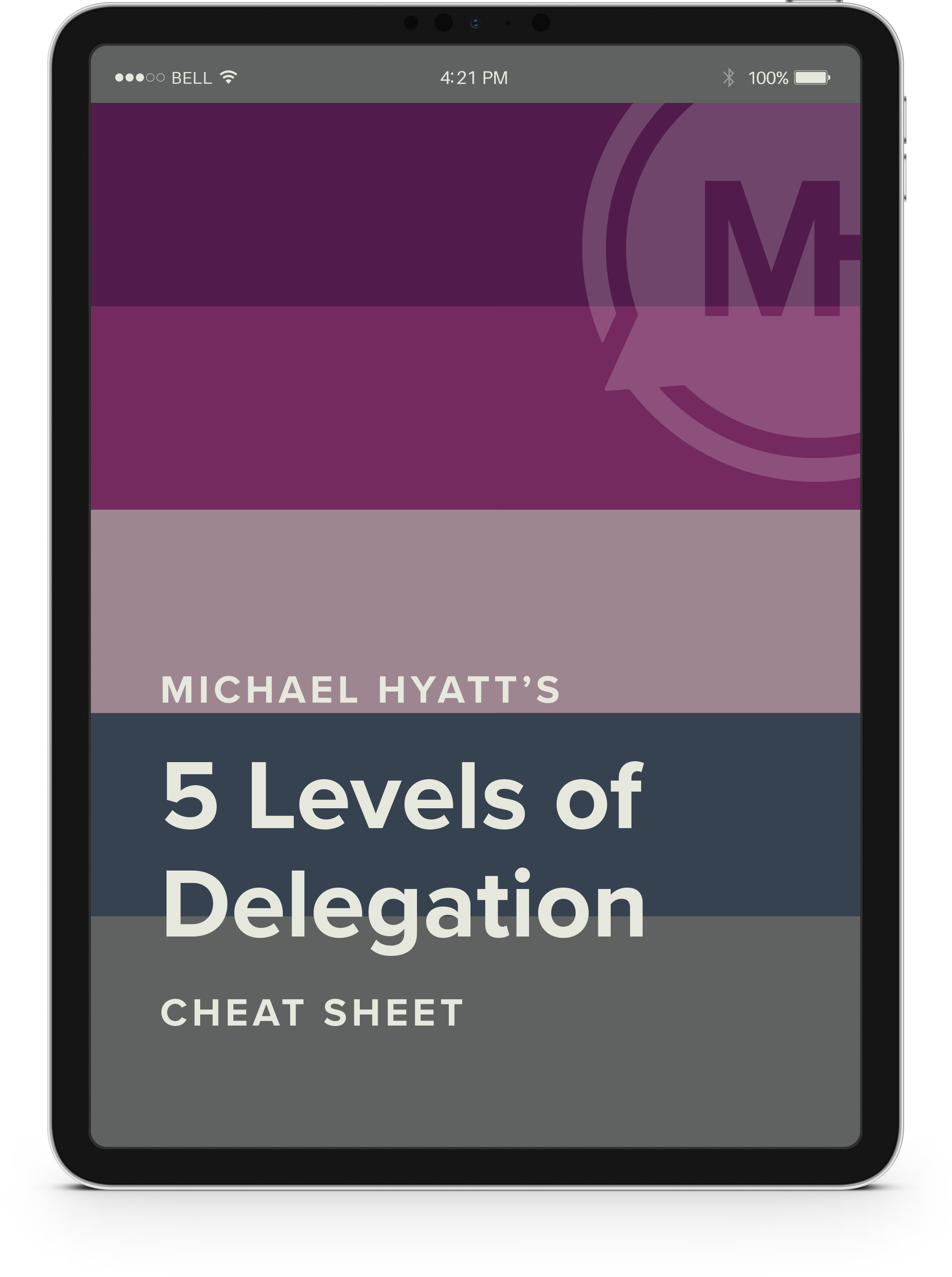 5 Levels of Delegation_ipad
