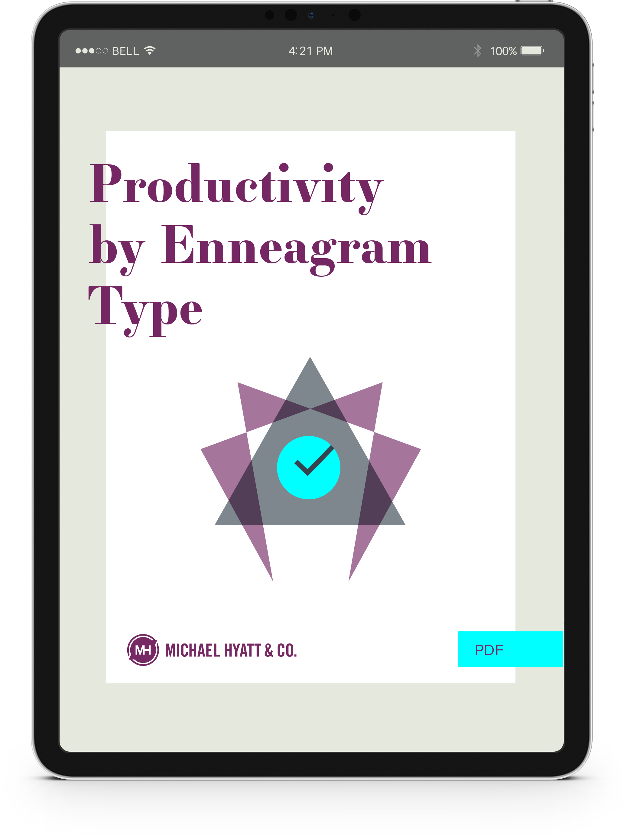 Productivity by Enneagram Type_iPad